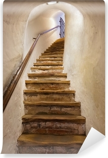 Stairs in Castle Kufstein - Austria Vinyl Wall Mural