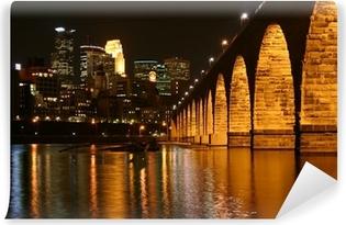 Stone Arch Bridge, Minneapolis Minnesota Vinyl Wall Mural