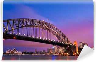 Sydney habour bridge - sydney city Vinyl Wall Mural