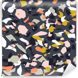 Terrazzo pattern.Perfect design for posters, cards, textile, web pages. Vinyl Wall Mural