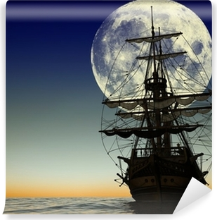 Pirates and pirate ships Wall Murals - Catch the wind in the