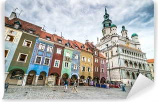 Market Square Poznan Poland Wall Mural Pixers We Live To Change
