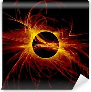 The eye of God - Solar Eclipse Vinyl Wall Mural