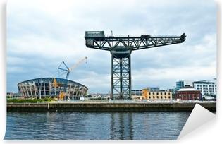 The Finnieston crane - Glasgow Vinyl Wall Mural