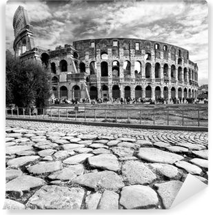 The Majestic Coliseum, Rome, Italy. Vinyl Wall Mural