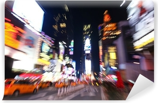 The times square at night Vinyl Wall Mural