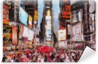 Times Square New York City Vinyl Wall Mural