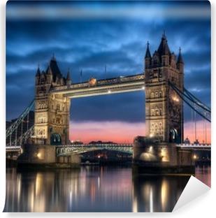 Tower Bridge Londres Angleterre Vinyl Wall Mural
