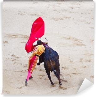 Traditional corrida - bullfighting in spain Vinyl Wall Mural