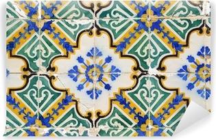 Traditional portuguese tiles, Azulejos Vinyl Wall Mural