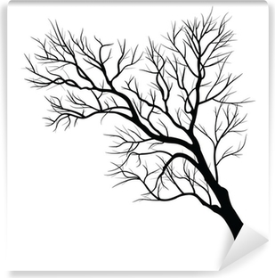 Trees with dead branch Vinyl Wall Mural