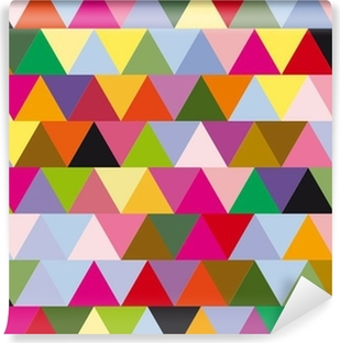 triangles Vinyl Wall Mural