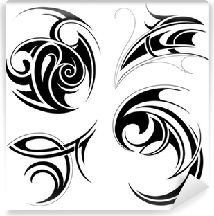 Tribal art set Vinyl Wall Mural