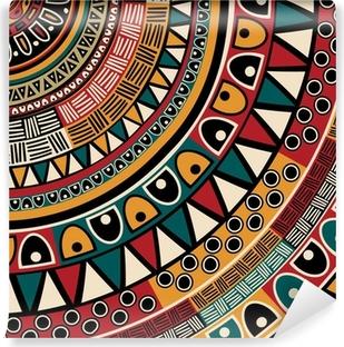 Tribal ethnic background Vinyl Wall Mural