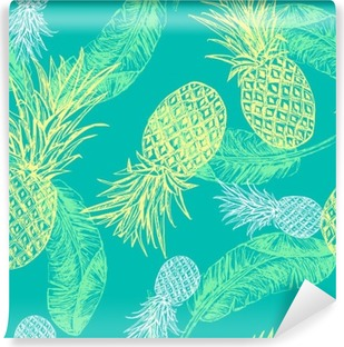 Tropical seamless pattern Vinyl Wall Mural
