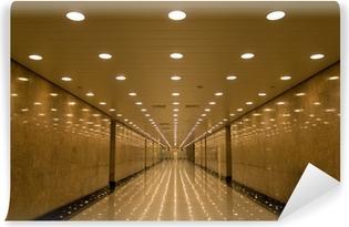 tunnel of lights Vinyl Wall Mural