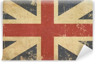 Union Jack 1606–1801 (The King's Colours) Flat Aged Vinyl Wall Mural