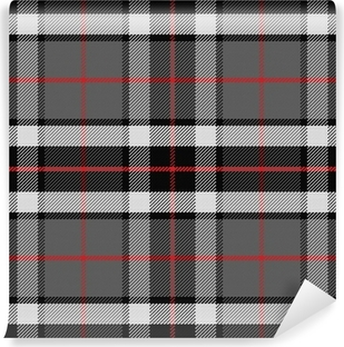 vector seamless pattern Scottish tartan Vinyl Wall Mural