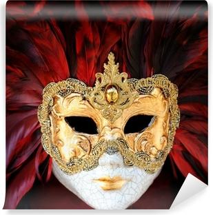 Venetian Carnival Mask Vinyl Wall Mural