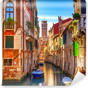 Venice water canal view Vinyl Wall Mural