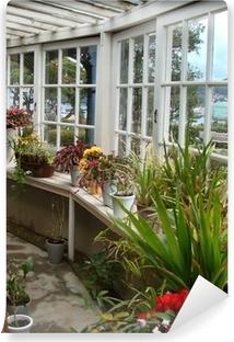 Véranda et jardin d\'hiver Canvas Print • Pixers® • We live ...