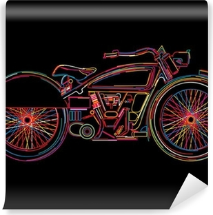 Motorcycles Wall Murals Taste the emotions Pixers
