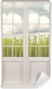 White door - Plantation Vinyl Wall Mural