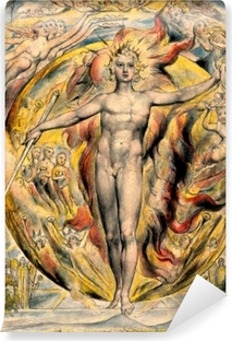 William Blake - Moses Vinyl Wall Mural