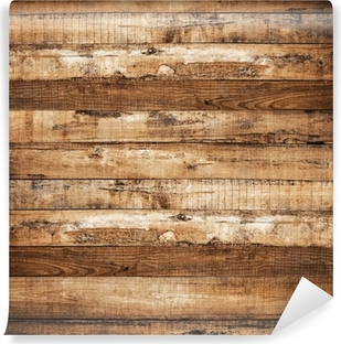 wood plank background Vinyl Wall Mural
