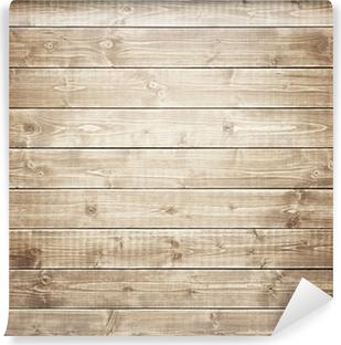 Wood Vinyl Wall Mural