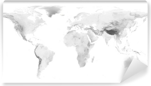 World map with grayscale elevation on black background wall mural world map with grayscale elevation vinyl wall mural gumiabroncs Image collections