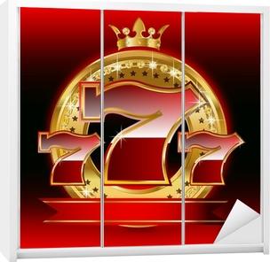 777 Wardrobe Sticker