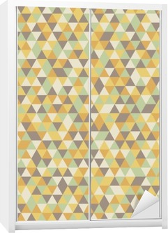 abstract pattern Wardrobe Sticker
