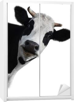 Cow Wardrobe Sticker