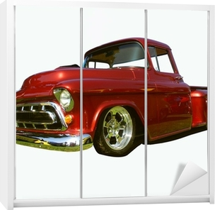hot rod pick-up Wardrobe Sticker