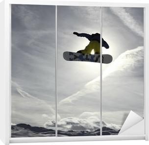 Snowboard Wardrobe Sticker