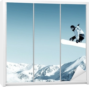 Snowboarding Wardrobe Sticker