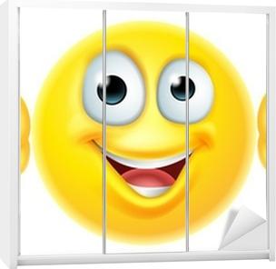 Thumbs up emoticon emoji Wardrobe Sticker