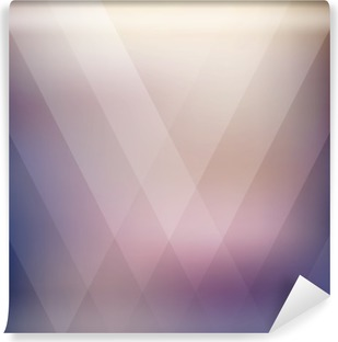 Abstract geometric purple polygonal background. Vector illustration Washable Wall Mural