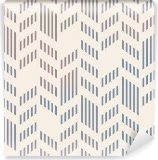 Abstract Seamless Geometric Vector Chevron Pattern. Mesh backgro Washable Wall Mural