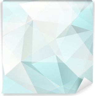 abstract triangle background, vector Washable Wall Mural