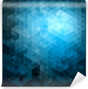 Abstract triangles pattern background Washable Wall Mural