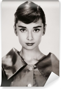 Audrey Hepburn Washable Wall Mural