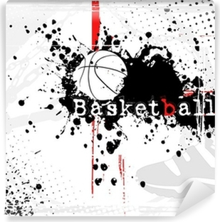 basketball background Washable Wall Mural