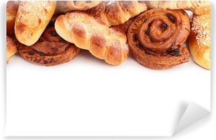 bread and pastries Washable Wall Mural