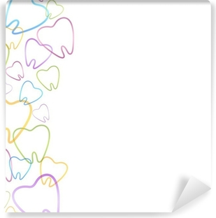 Dental Background Washable Wall Mural