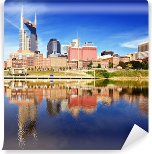 Downtown Nashville Washable Wall Mural