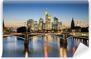 Frankfurt am Main. Washable Wall Mural
