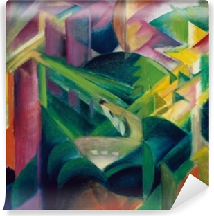 Franz Marc - Deer in the Monastery Garden Washable Wall Mural
