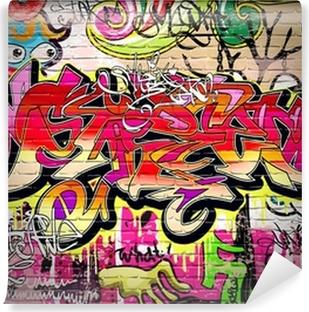 Graffiti Art Vector Background Washable Wall Mural